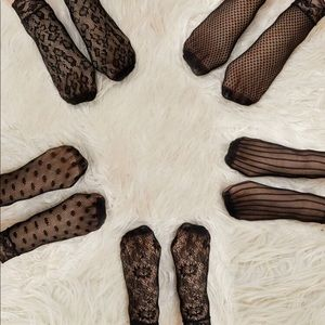***SOLD***NWT Fishnet Socks